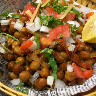 Chana Karela Chaat